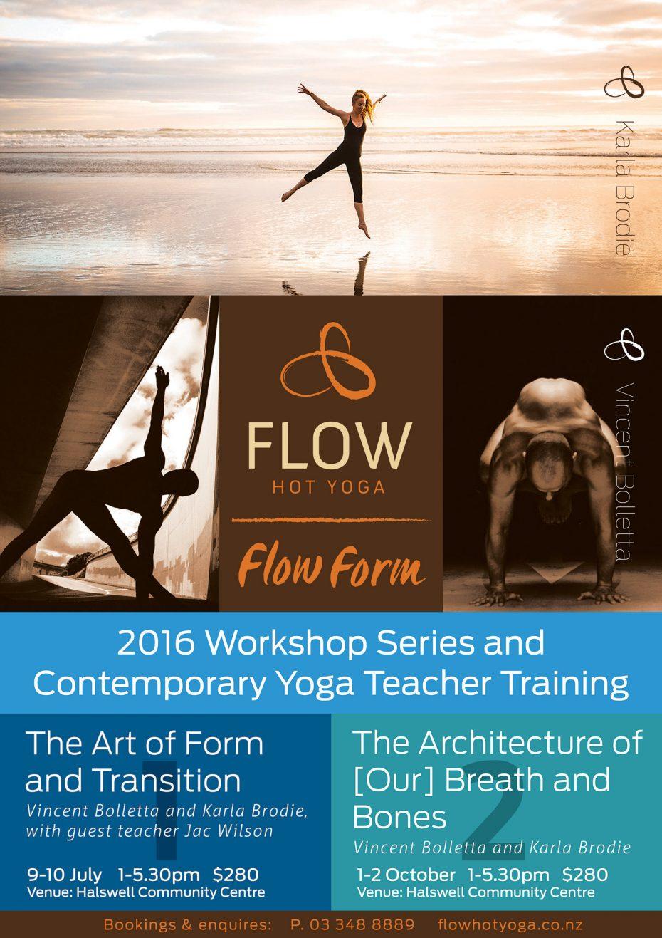 Flow Hot Yoga Teacher Training